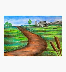 """""""The Dirt Road"""" Photographic Print"""