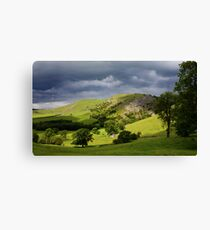 Bunster Hill Dovedale, The Peak District National Park Canvas Print