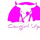 Cowgirl Up by Vince Scaglione