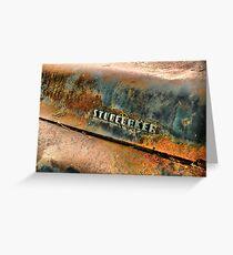 Studebaker 3 Greeting Card