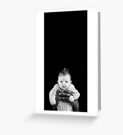 Safe in your hands Greeting Card