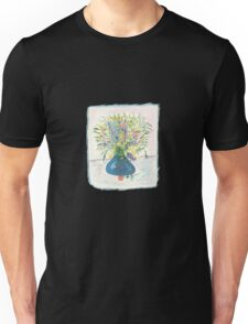 Blue Drop Vase Tee Unisex T-Shirt