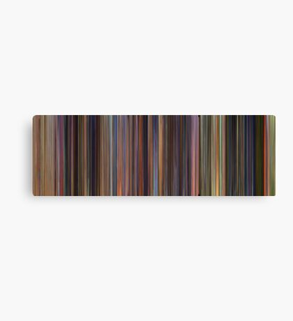 Moviebarcode: Toy Story Trilogy (1995-2010) Canvas Print