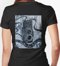 Like is like Photography  Women's Fitted V-Neck T-Shirt