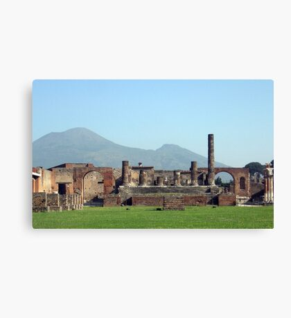 Mt. Vesuvius Canvas Print