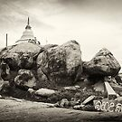 Built on the Rocks - Kirinda Temple by Dilshara Hill