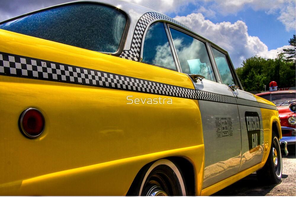 Checker Cab by Sevastra