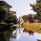 Lift bridge, Llangollen Canal,  UK. by Roy  Massicks