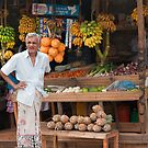 Roadside Fruit Stall - Sri Lanka by Dilshara Hill