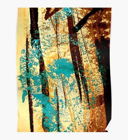 swamp eye.... ancient aki spirits Poster