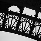 Eiffel Tower - Close Up  - B + W 2 by minikin