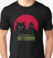 The Adventures of San & Ashitaka Unisex T-Shirt