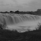 Hopkins Falls Monochrome by Dave Callaway