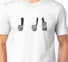 Manual Transmission Pedals Unisex T-Shirt
