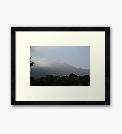 Mount Vesuvius Framed Print