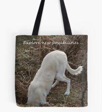 Explore new possibilities Tote Bag