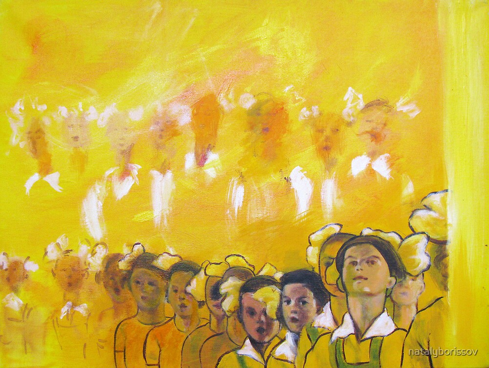 Childhood series - children singing - Kid's choir by natalyborissov