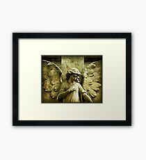 ~Winged and Weightless~ Framed Print