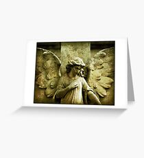 ~Winged and Weightless~ Greeting Card