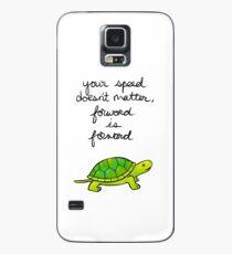 Forward is Forward Turtle Case/Skin for Samsung Galaxy