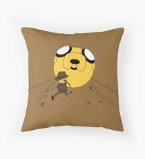 Finndiana Jones Throw Pillow