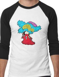 American Zombie Living Dead Squirrel Men's Baseball ¾ T-Shirt