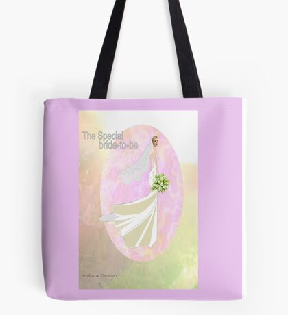 Bride to be  & flowers (5002 views) Tote Bag