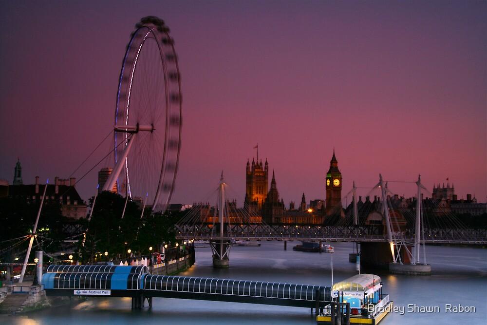 """London's Lights"" by Bradley Shawn  Rabon"