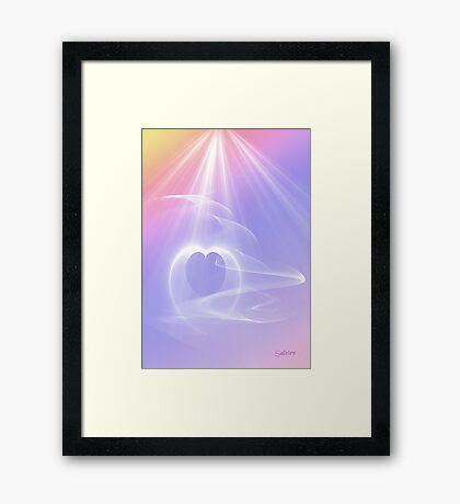 Precious Love and Light Framed Print