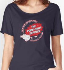 Jack Burton Trucking Pork Chop Express Women's Relaxed Fit T-Shirt