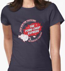 Jack Burton Trucking Pork Chop Express Women's Fitted T-Shirt