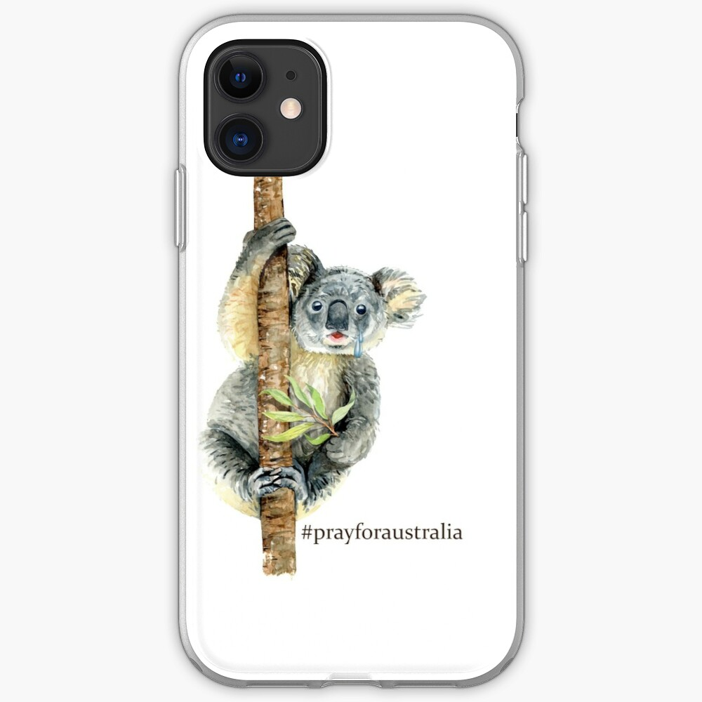 Pray for Australia Koala  iPhone Case & Cover