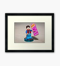 Marty is ready Framed Print