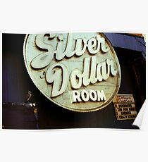 $ Silver Dollar Room $ Poster