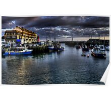 West Bay Harbour Poster