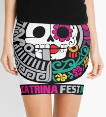 La Catrina Fest MX 2015 Mini Skirt