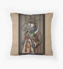 Steampunk Gonzo Throw Pillow