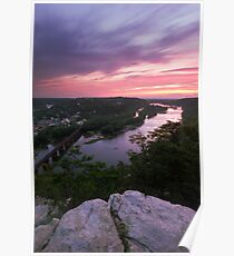 Harpers Ferry Sunset 2 - Harpers Ferry, WV Poster