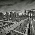 Brooklyn Bridge HDR by Laurent Hunziker