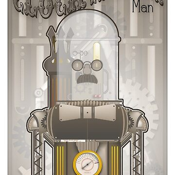 Steampunk Robot by doodlebags