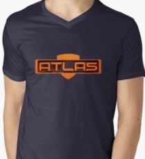 Borderlands Atlas Mens V-Neck T-Shirt