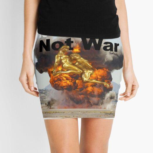 Make Love, Not War Mini Skirt