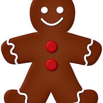Gingerbread Man  by runninragged