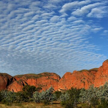Rippled clouds over the Kimberley by timoss