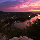 Harpers Ferry Sunset 3 - Harpers Ferry, WV by Matthew Kocin