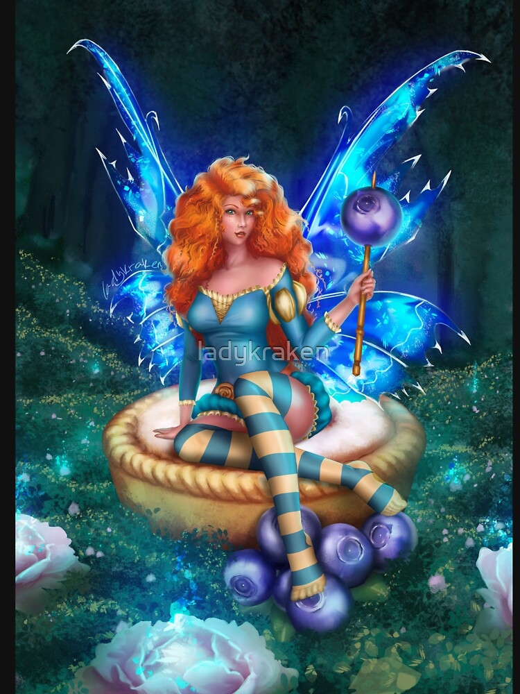 Blueberry Cake Fairy by ladykraken