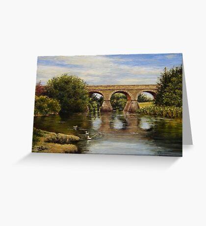 Bridging History Greeting Card