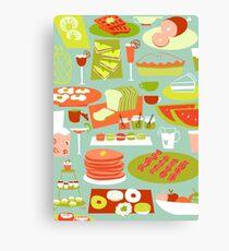 Big Breakfast Canvas Print