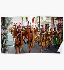 Carnivals at Japan Poster