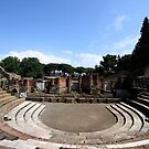Large Theatre - Pompeii by Samantha Higgs
